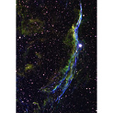 NGC 6960 - Hubble Pallet Version 2